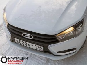 Lada Vesta передний бампер
