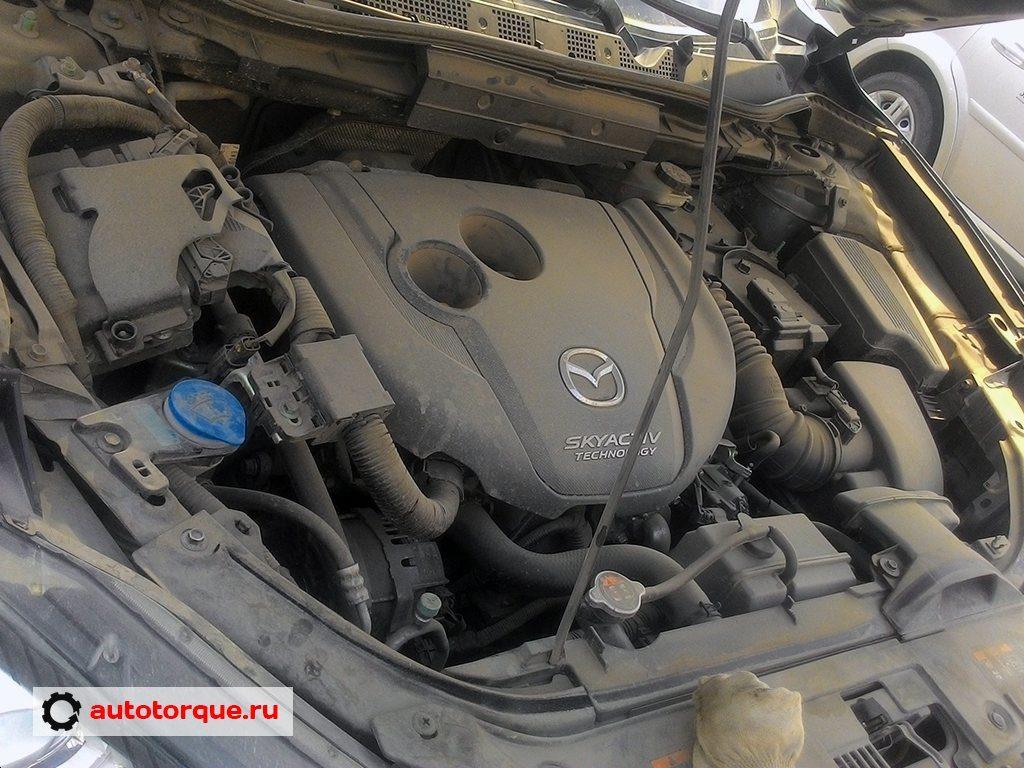 Mazda CX-5 SkyActiv под капотом