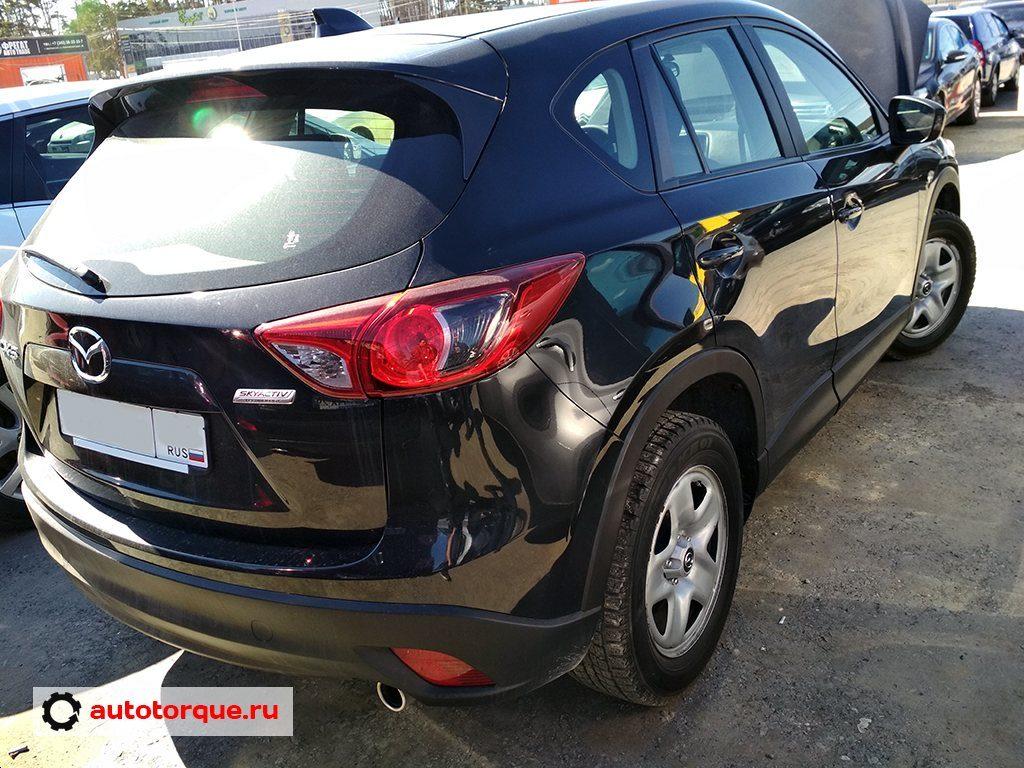 Mazda CX-5 сзади сбоку