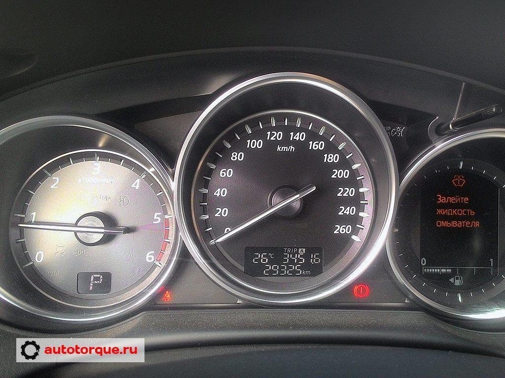 панель приборов Mazda cx-5 (2)