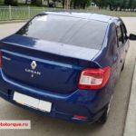 Renault Logan 2 сзади