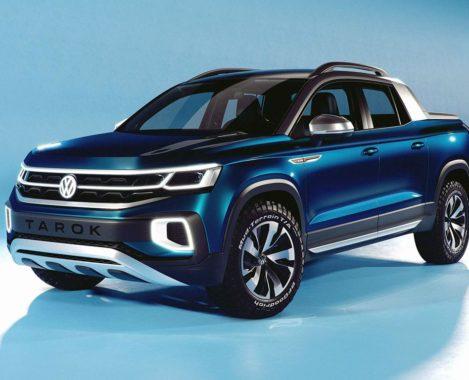 Volkswagen Tarok экстерьер