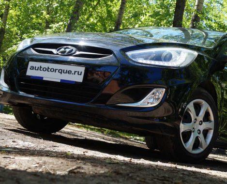 Hyundai-Solaris-Дорестайлинг-черный