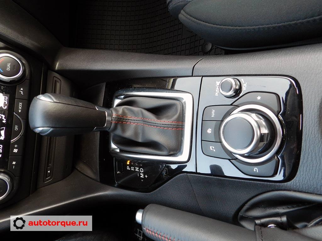 Mazda-3-BM-селектор-акпп