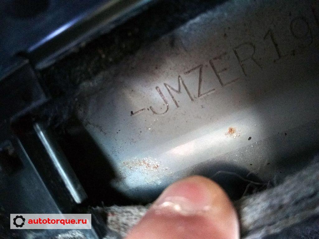 Mazda CX-7 VIN номер коррозия