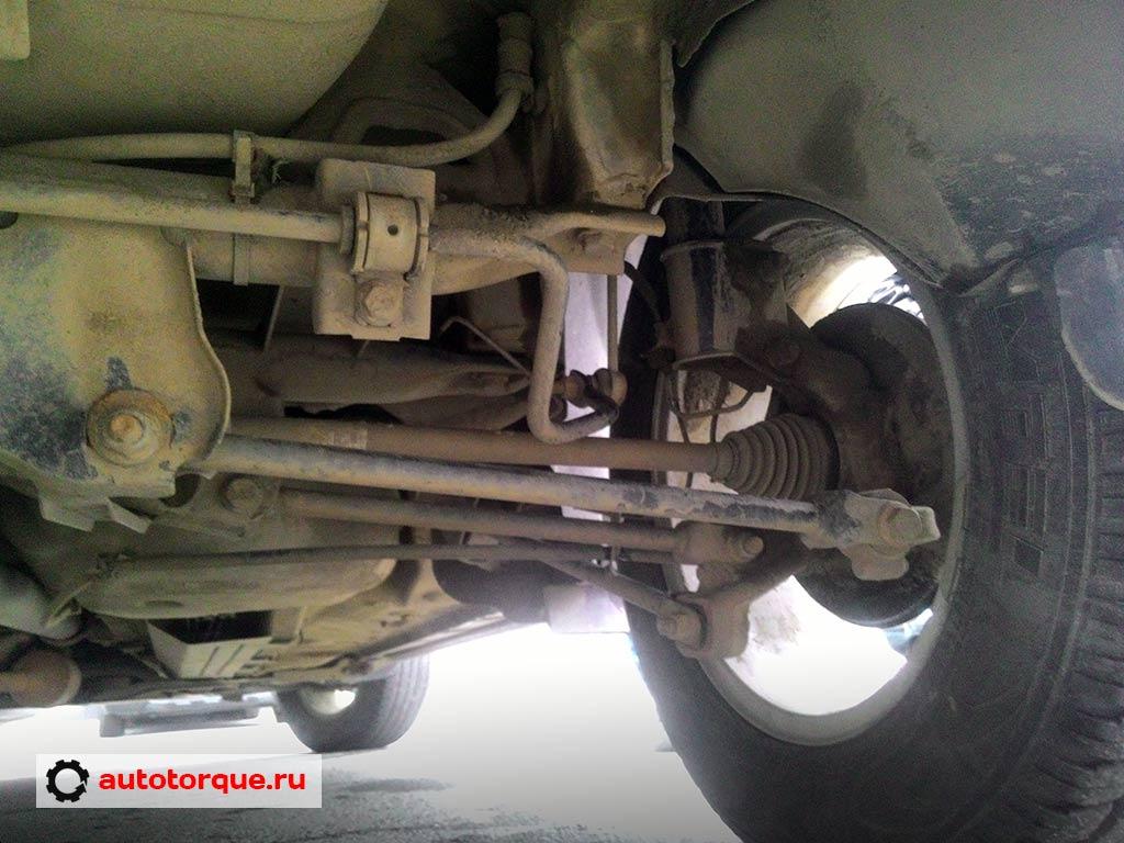 Renault-Duster-задняя-подвеска