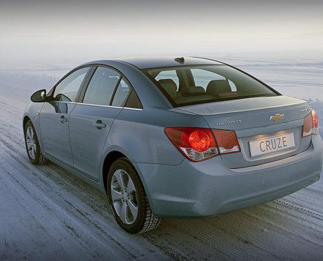 Chevrolet-Cruze-седан-зимой