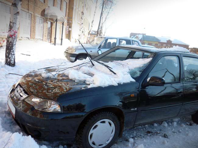 neksija pod snegom - Стоит ли покупать битую машину