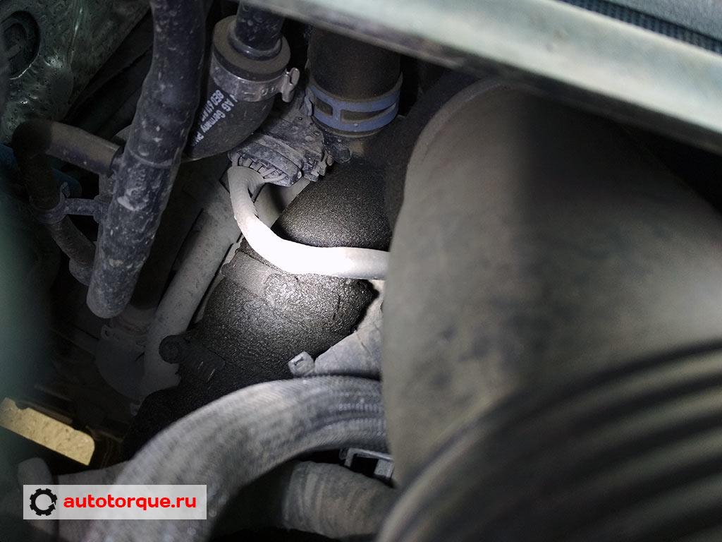 отпотевание турбины дизель Volkswagen-Touareg-2