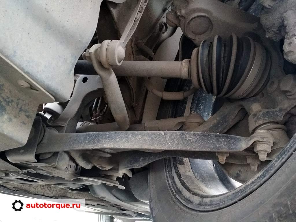skoda-octavia-a7 передняя подвеска