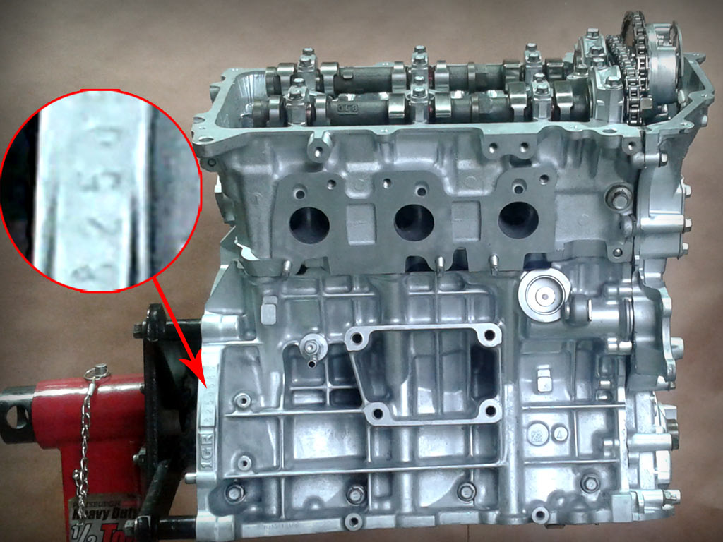 1gr-fe номер двигателя