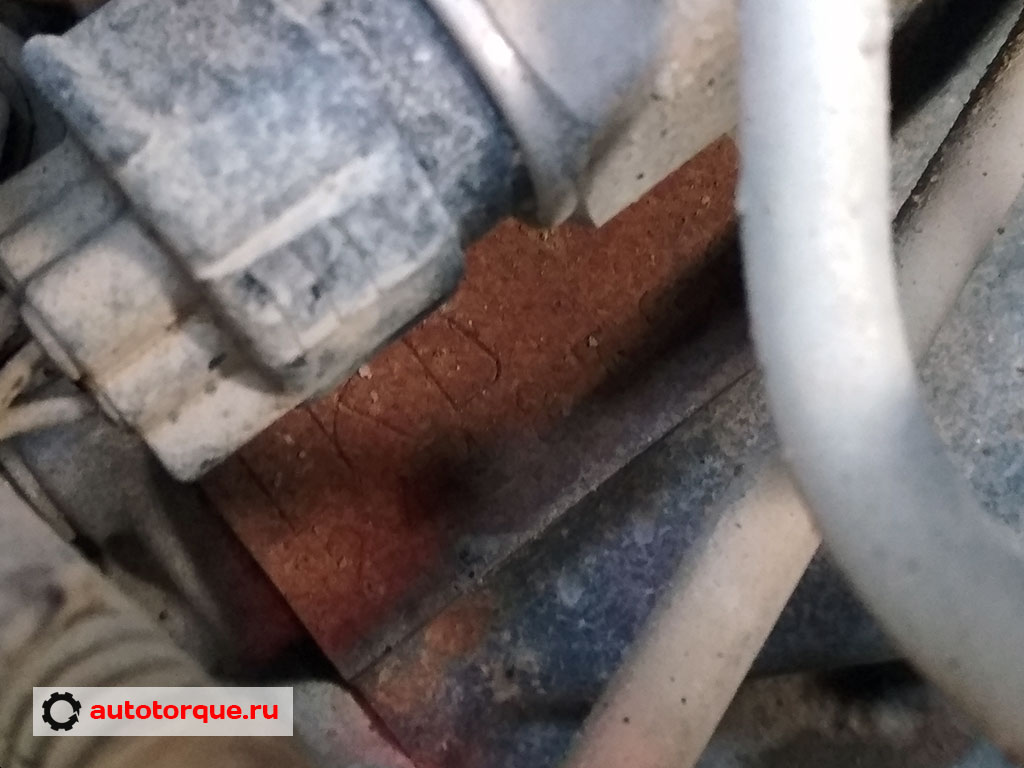 1kd-ftv номер двигателя детально