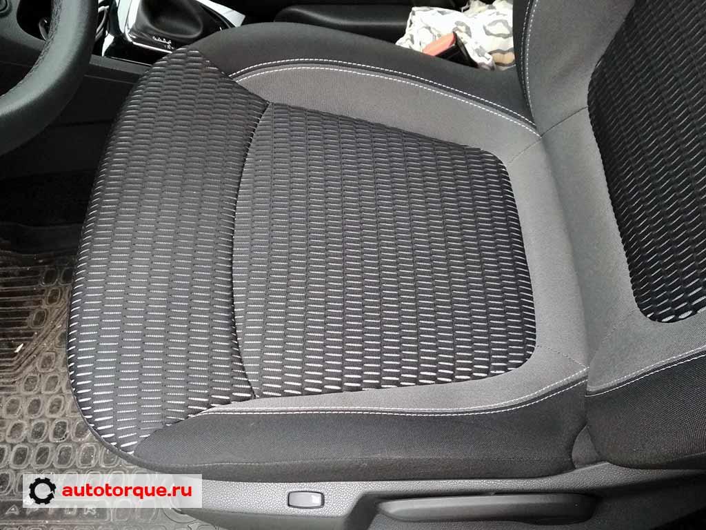 renault kaptur водительское сиденье