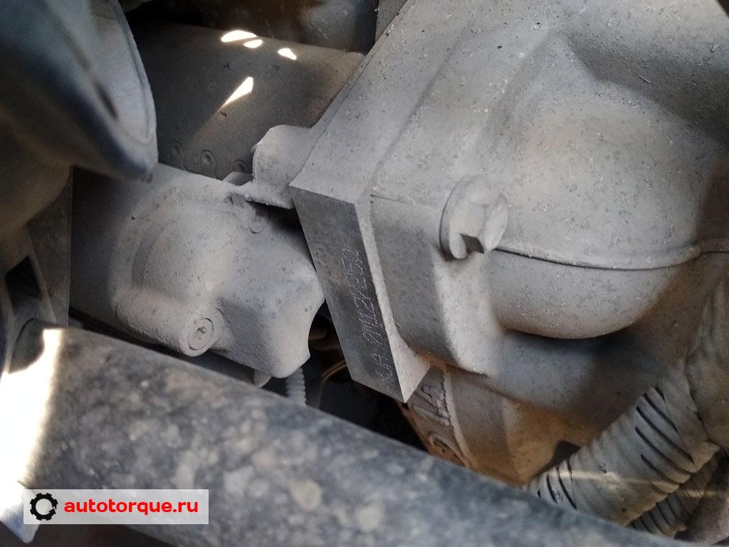 ford fusion номер двигателя fxja