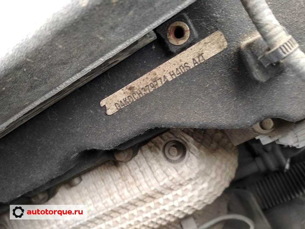 g4kd номер двигателя на наклейке