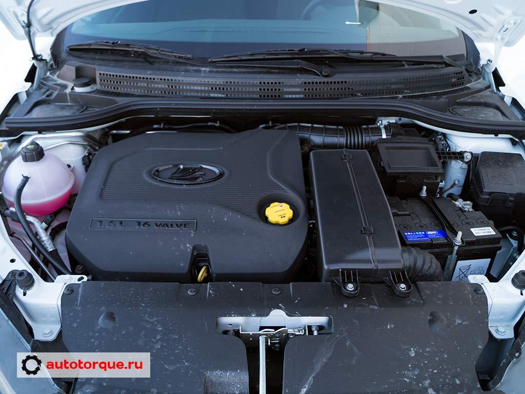 Lada Vesta мотор 1-6
