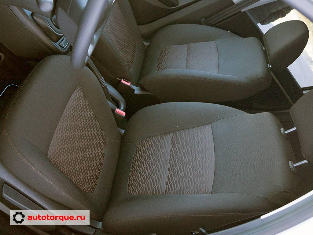 lada vesta водительское кресло