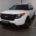 Ford Explorer 5 белый