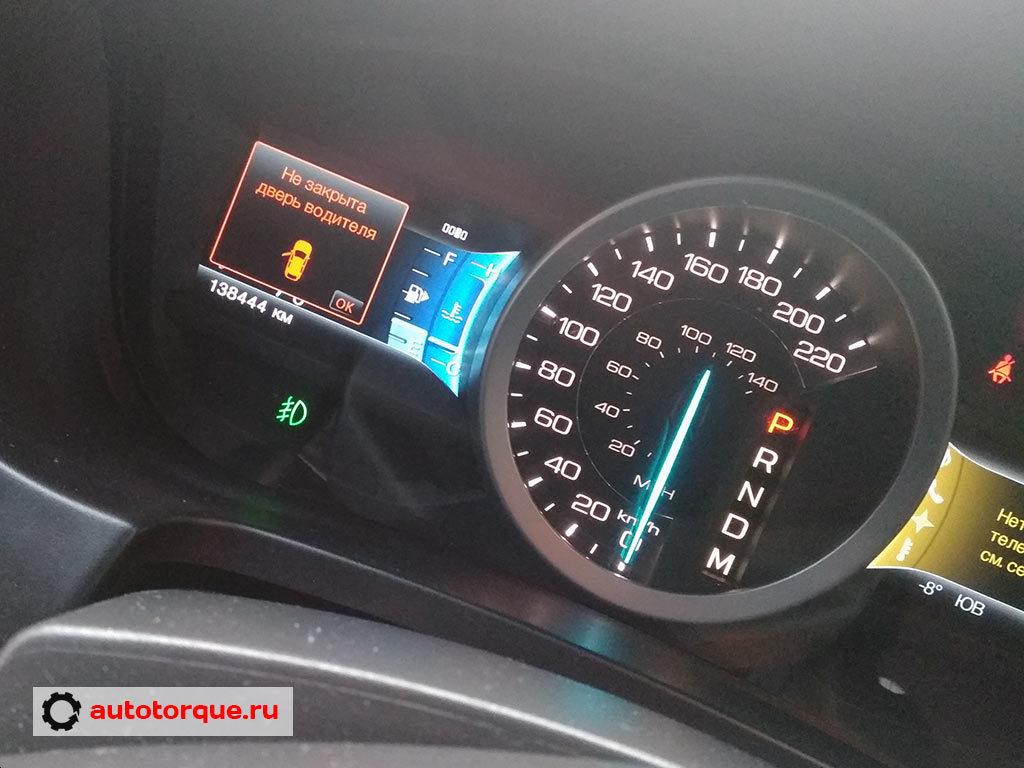 ford explorer 5 панель приборов