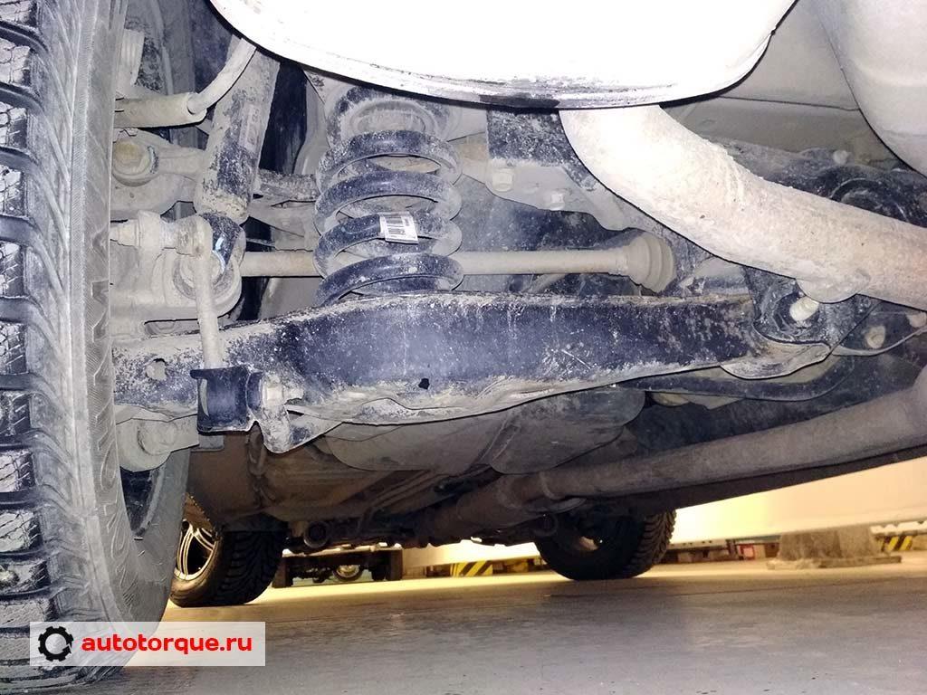 ford explorer 5 задняя подвеска