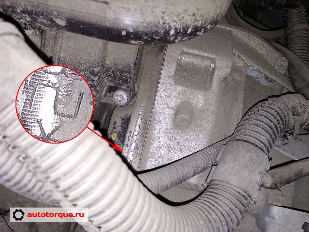 CDNB tfsi номер двигателя детально