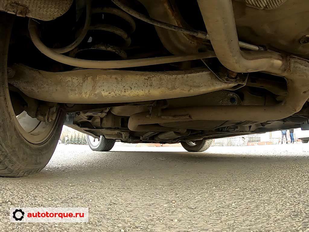 Opel Insignia задняя подвеска