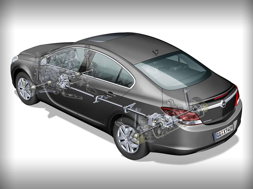 Opel Insignia полупрозрачный