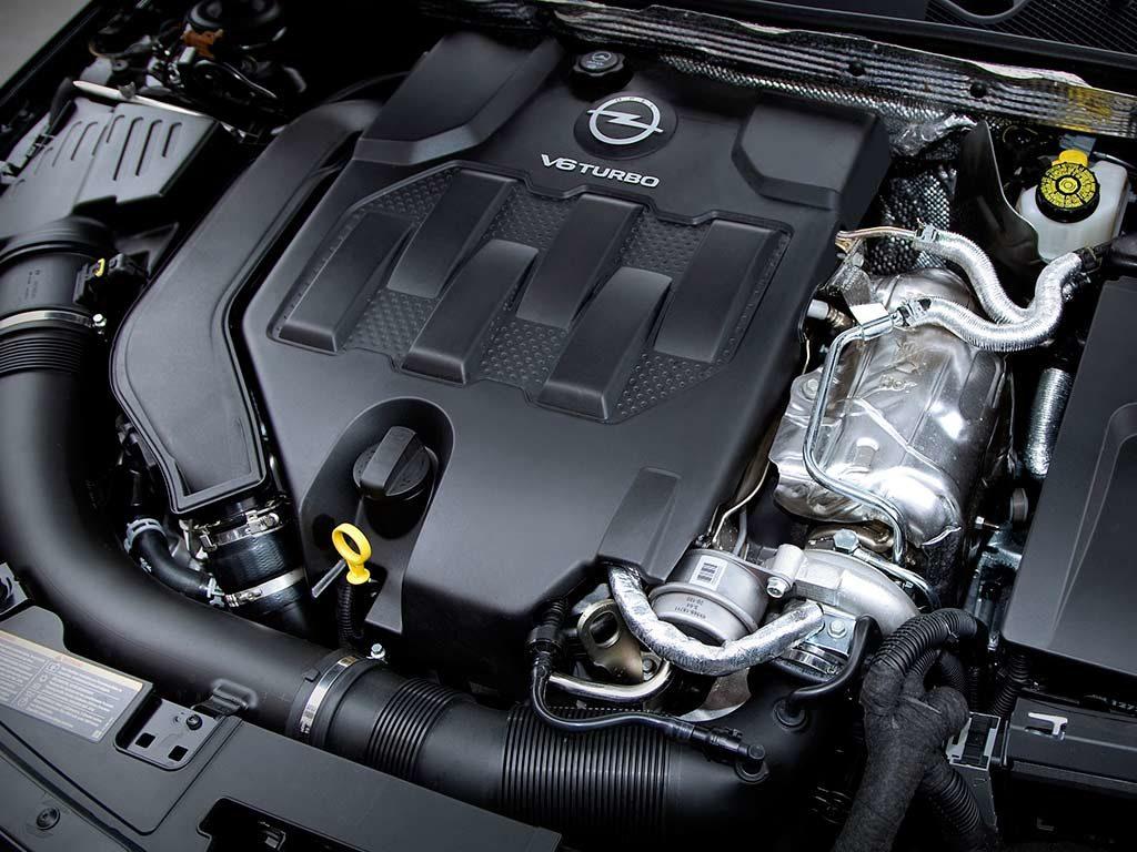 Opel Insignia opc под капотом