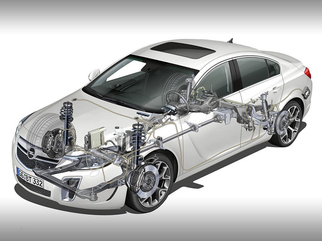 Opel Insignia OPC полупрозрачный