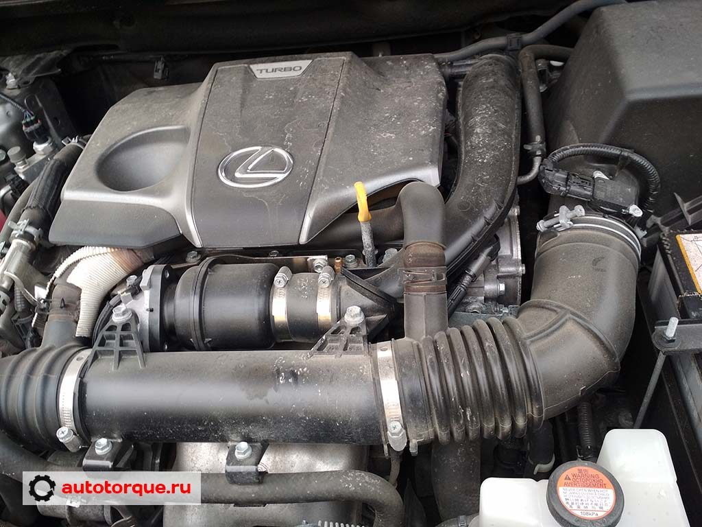 Lexus NX под капотом турбо-мотор