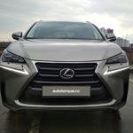 Lexus NX спереди