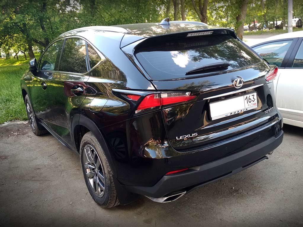 Lexus NX черный в угоне