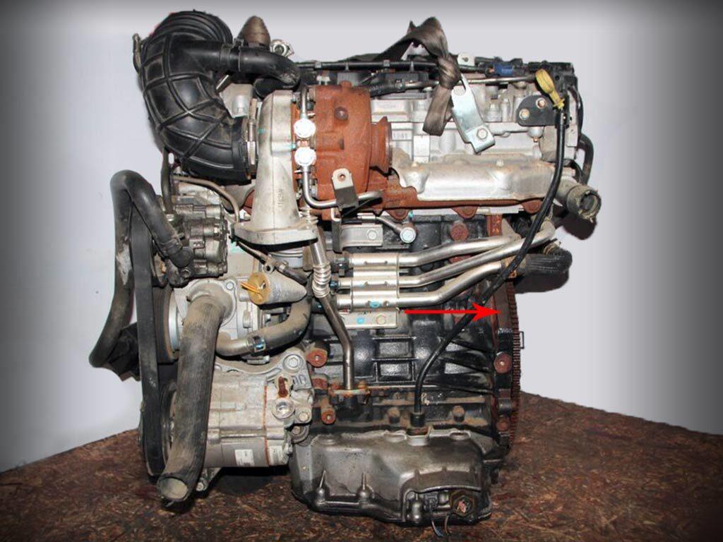 дизель A22DMH номер двигателя