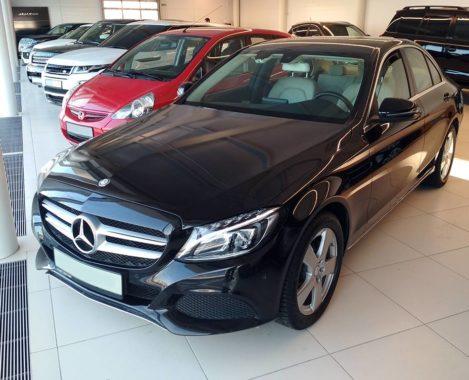 Mercedes-Benz C-klasse W205 без лого
