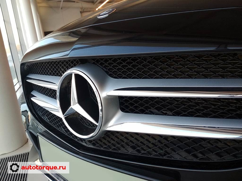 Mercedes-Benz C-klasse W205 решетка радиатора