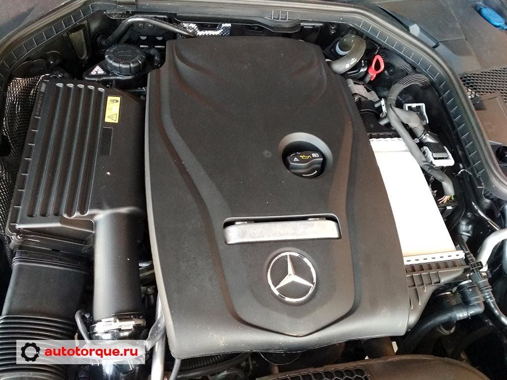 Mercedes-Benz-C-klasse-W205-бензиновый-мотор