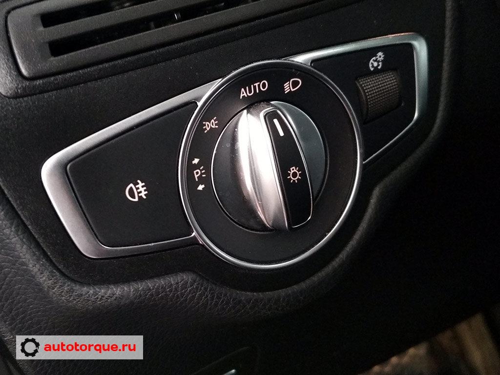 Mercedes-Benz-C-klasse-W205-блок-управления-светом