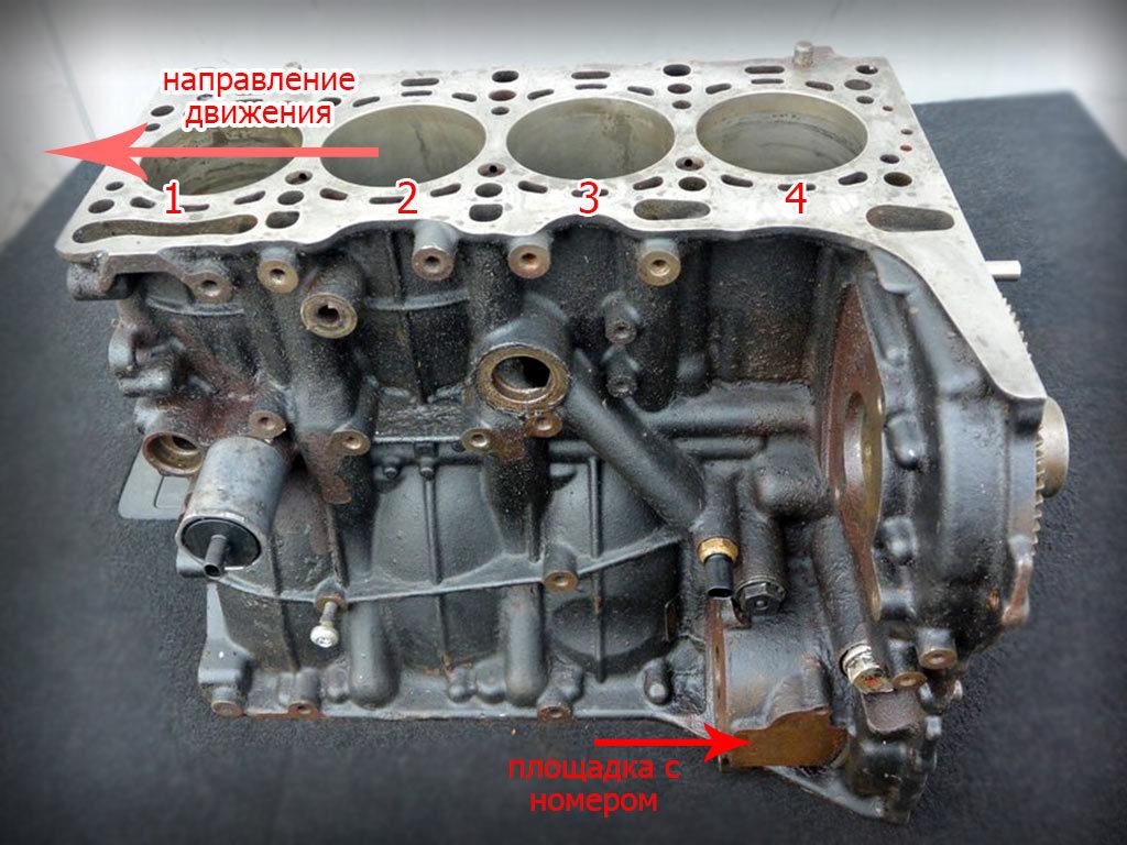 om651 номер двигателя-расположение