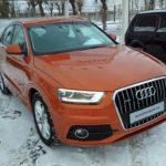 Audi Q3 оранжевый