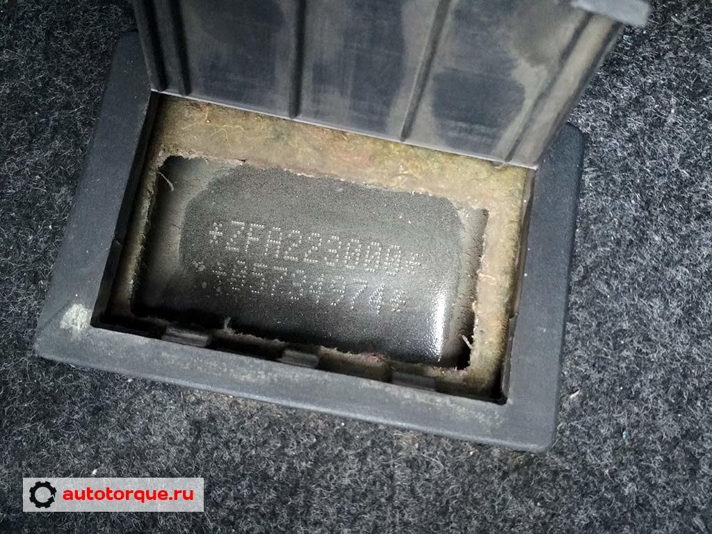 Fiat Doblo VIN-номер расположение турецкая сборка