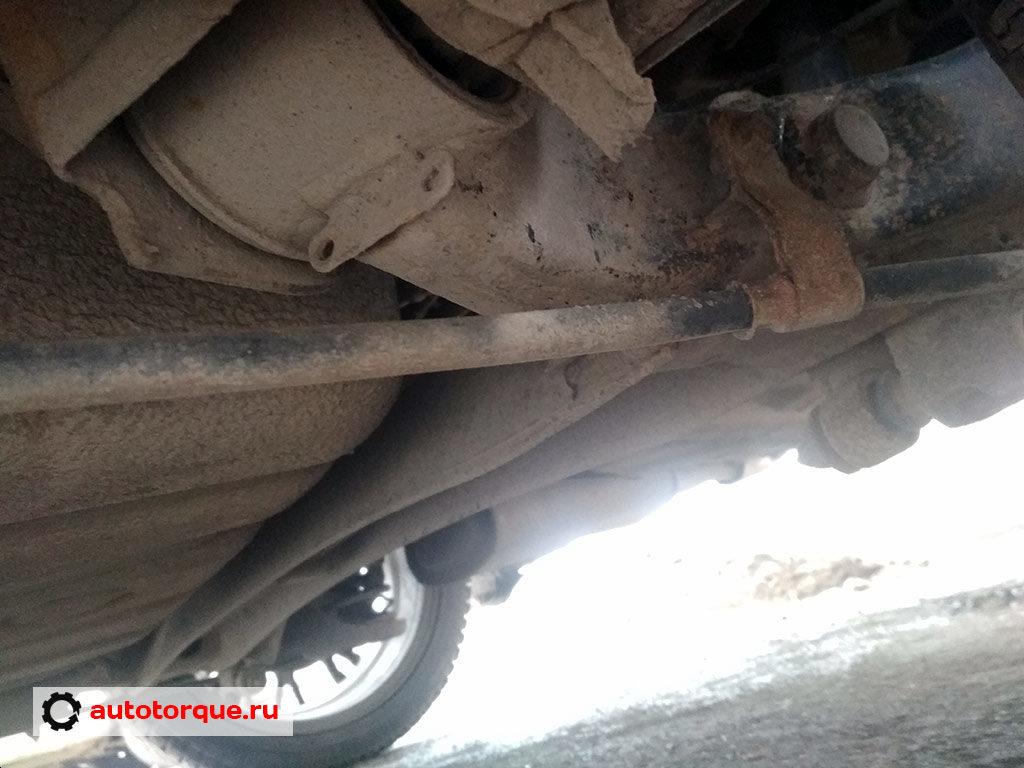 Kia Cerato 3 задняя подвеска балка