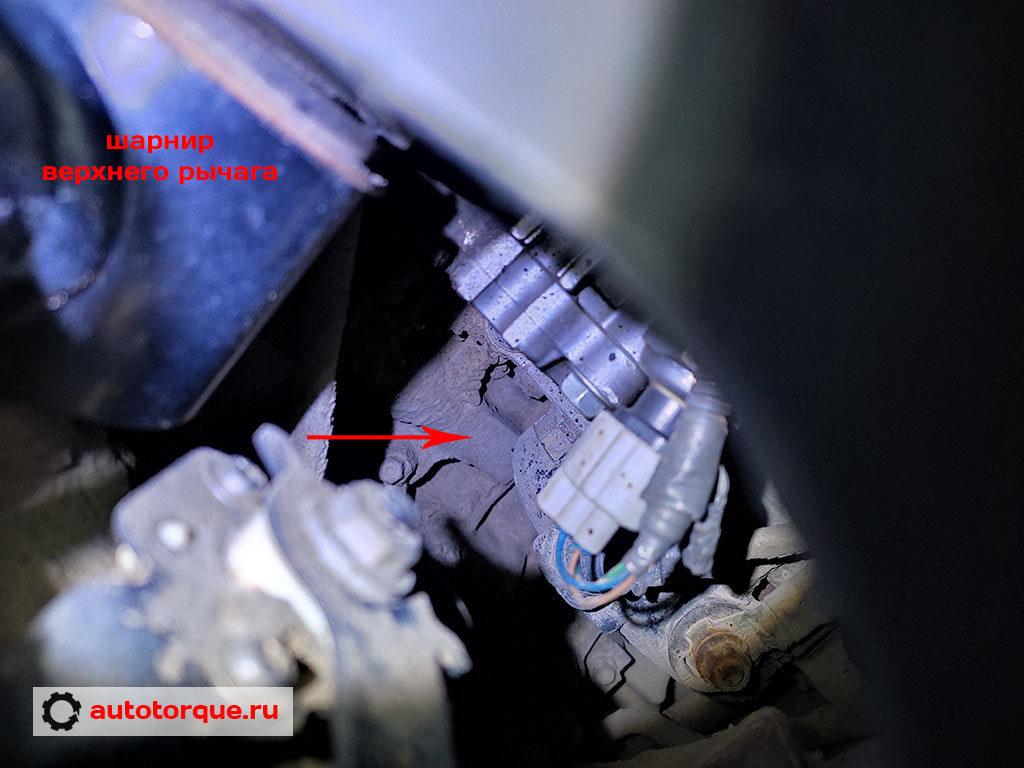 3UR-FE номер двигателя расположение